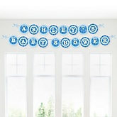 All Star Sports - Personalized Baby Shower Garland Letter Banners