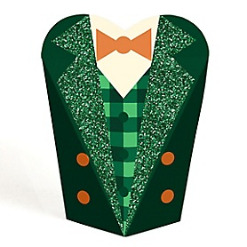 St. Patrick's Day - Saint Patty's Day Party Leprechaun Favors - Gift Favor Boxes for Women & Kids - Set of 12