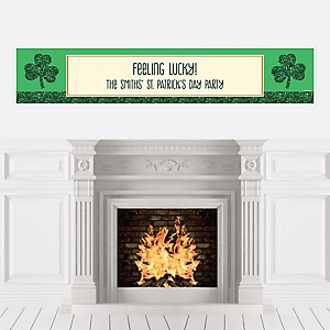 St. Patrick's Day - Personalized Saint Patty's Day Party Banner