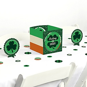 St. Patrick's Day - Saint Patty's Day Party Centerpiece and Table Decoration Kit