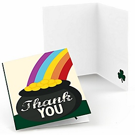 St. Patrick's Day - Saint Patty's Day Party Thank You Cards - 8 ct