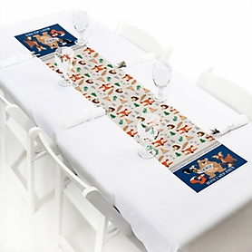 Stay Wild - Forest Animals - Personalized Woodland Party Petite Table Runner