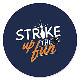 Strike Up the Fun - Bowling - Birthday Party Theme