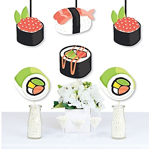 Let's Roll - Sushi - Decorations DIY Japanese Party Essentials - Set of 20