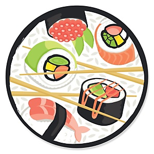 Let's Roll - Sushi - Japanese  Party Theme