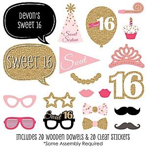Sweet 16 Birthday Party Theme Bigdotofhappinesscom