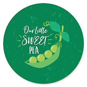 Sweet Pea in a Pod - Baby Shower Theme