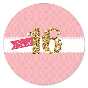 Sweet 16 - Birthday Party Theme
