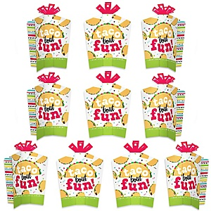 Taco 'Bout Fun - Table Decorations - Mexican Fiesta Fold and Flare Centerpieces - 10 Count