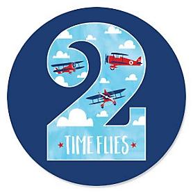 2nd Birthday - Taking Flight - Airplane Second Birthday Party Theme