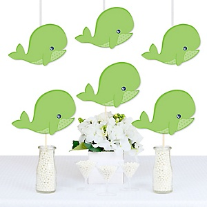 Tale Of A Whale - Decorations DIY Baby Shower or Birthday Party Essentials - Set of 20