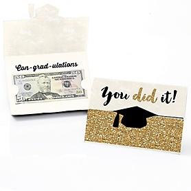 Tassel Worth The Hassle - Gold - Graduation Money Holders - 8 ct.