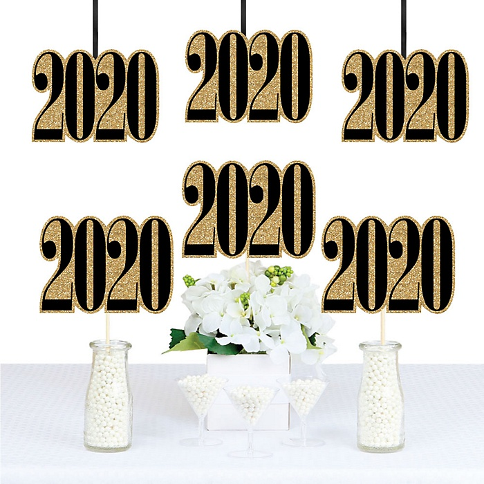 Tassel Worth The Hassle - Gold - 2020 Decorations DIY Party Essentials - Set of 20