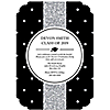 Tassel Worth The Hassle - Silver - Personalized 2019 Graduation Invitations - Set of 12