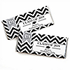 Tassel Worth The Hassle - Silver - Personalized Candy Bar Wrappers 2019 Graduation Party Favors - Set of 24