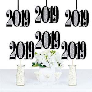 Tassel Worth The Hassle - Silver - 2019 Decorations DIY Party Essentials - Set of 20