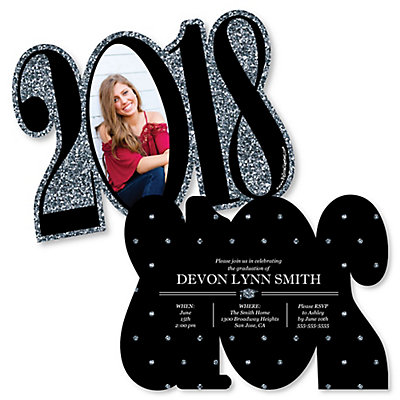 tassel worth the hassle silver personalized 2018 photo