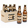 Teacher Appreciation - 6 Beer Bottle Labels and 1 Carrier Thank You Gift - Back to School Gifts for Teachers