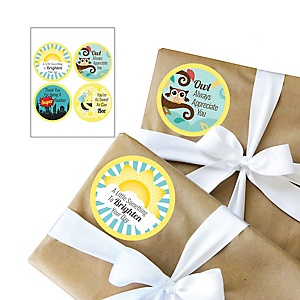 Teacher Appreciation Gift Stickers - First Day of School Gifts for Teachers - 4 Piece