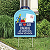 Teacher Appreciation - Back to School Party Decorations - We Love Our Teachers Personalized Welcome Yard Sign