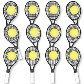 You Got Served - Tennis Fundraising - Spirit Cheer Gear - Fan Sports Swag Paddles - Set of 12