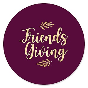 Elegant Thankful for Friends – Friendsgiving Party Theme