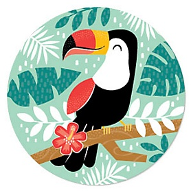 Calling All Toucans - Tropical Hawaiian Summer Party Theme