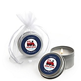 Train - Candle Tin Personalized Baby Shower Favors