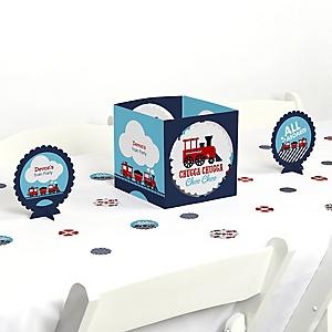 Train - Party Centerpiece & Table Decoration Kit