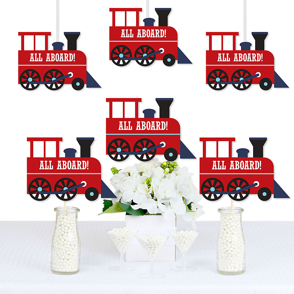 Decorations DIY Steam Train Birthday Party Or Baby Shower Essentials Double Tap To Zoom