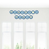 Train - Personalized Party Garland Letter Banners