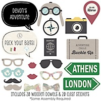 Graduation Photo Booth Prop Kits Bigdotofhappinesscom