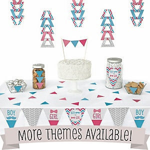 Triangle Birthday Party Decoration Kits
