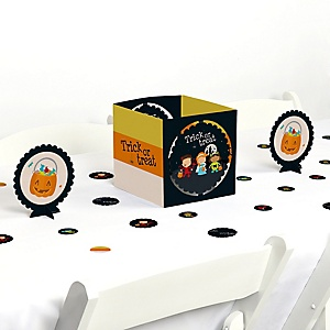 Trick or Treat - Halloween Party Centerpiece and Table Decoration Kit