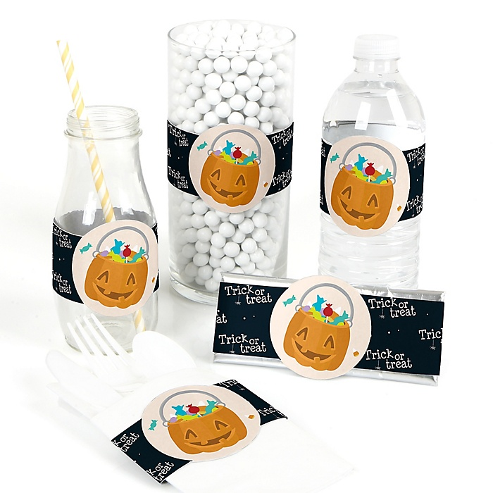 Trick or Treat - DIY Party Wrapper - 15 ct