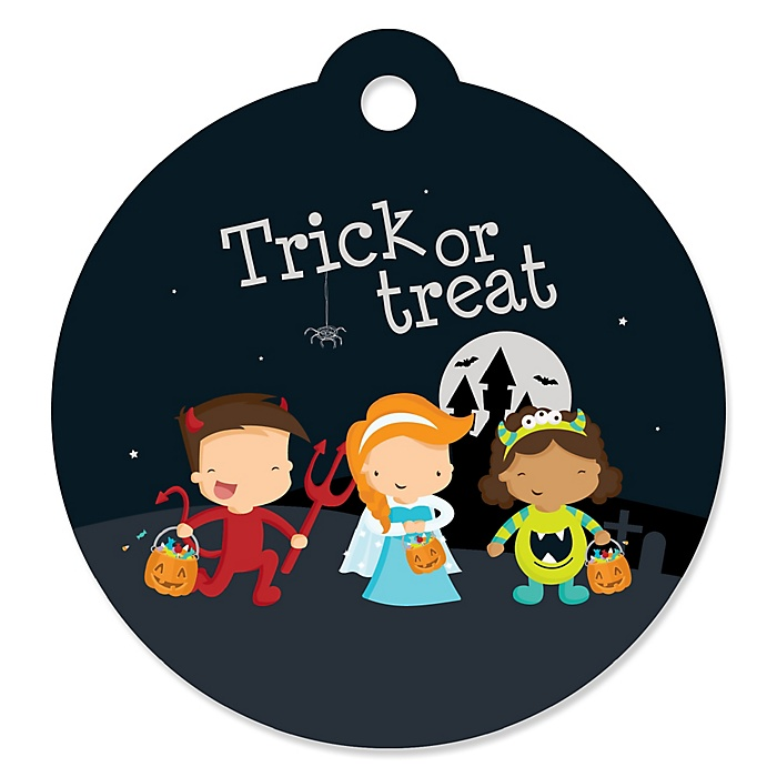 Trick or Treat - Halloween Party Tags - 20 ct