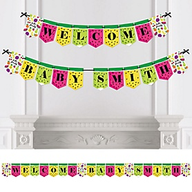 Tutti Fruity - Personalized Frutti Summer Baby Shower Bunting Banner & Decorations
