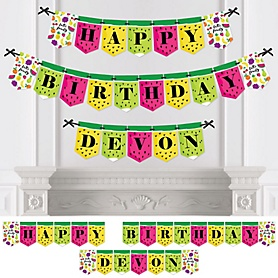 Tutti Fruity - Personalized Frutti Summer Birthday Party Bunting Banner & Decorations