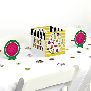 Tutti Fruity - Frutti Summer Baby Shower or Birthday Party Centerpiece and Table Decoration Kit