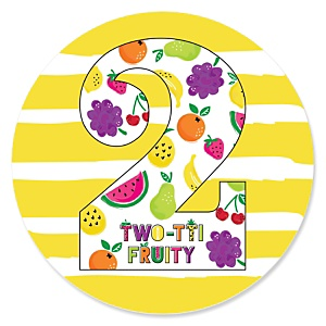 2nd Birthday - TWO-tti-Fruity - Frutti Summer Second Birthday Party Theme