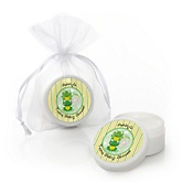 Twin Froggy Frogs - Personalized Baby Shower Lip Balm Favors