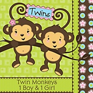 baby shower for twins theme
