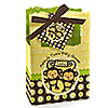 Twin Monkeys Neutral - Personalized Baby Shower Favor Boxes