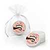 Owl Girl - Look Whooo's Having Twins - Personalized Baby Shower Lip Balm Favors