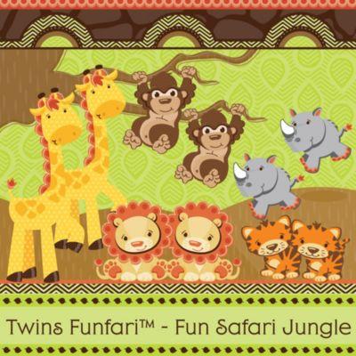 Awesome Twins Funfari™   Fun Safari Jungle   Baby Shower Theme