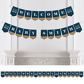 Twinkle Twinkle Little Star - Personalized Party Bunting Banner & Decorations