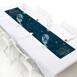 Twinkle Twinkle Little Star - Personalized Party Petite Table Runner