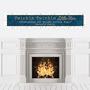 Twinkle Twinkle Little Star - Personalized Party Banners
