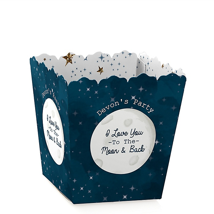 Twinkle Twinkle Little Star - Party Mini Favor Boxes - Personalized Party Treat Candy Boxes - Set of 12