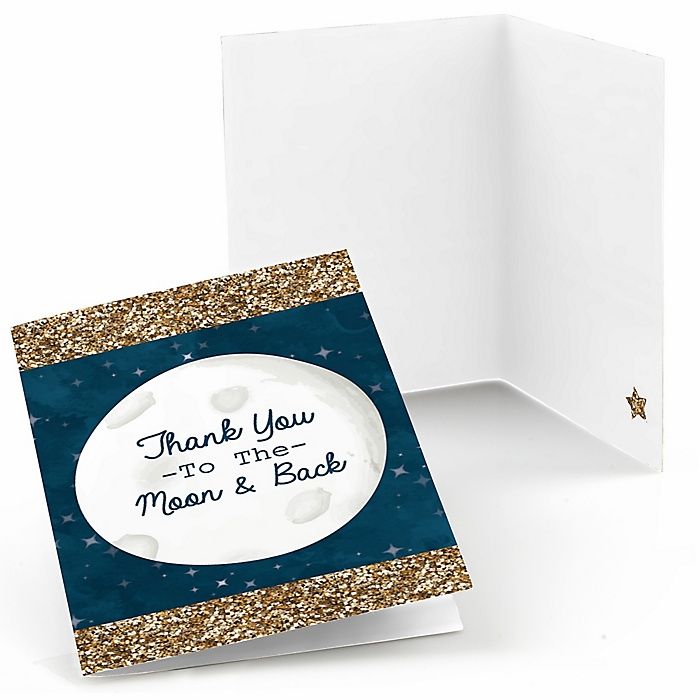 Twinkle Twinkle Little Star - Party Thank You Cards - 8 ct
